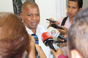 Cirstóbal Fálquez, secretario general de UCOC Panamá