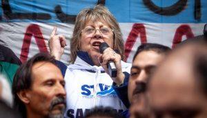 Graciela Aleñá, Secretaria General del Sindicato de Trabajadores Viales