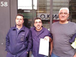 De izq a der: Gastón Kuttnick, Christian Prado y Alberto Salas.
