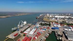 Puerto de Bahía Blanca.