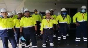Afiliados al SNTT paralizaron ayer las operaciones del puerto de TCBUEN