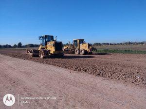 Reinicio de obras en un tramo de la autopista Juan Domingo Perón