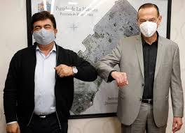 Fernando Espinoza y Gustavo Arrieta